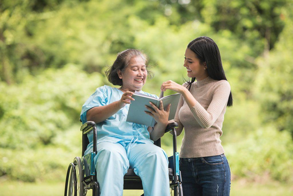 La terapia ocupacional en personas mayores