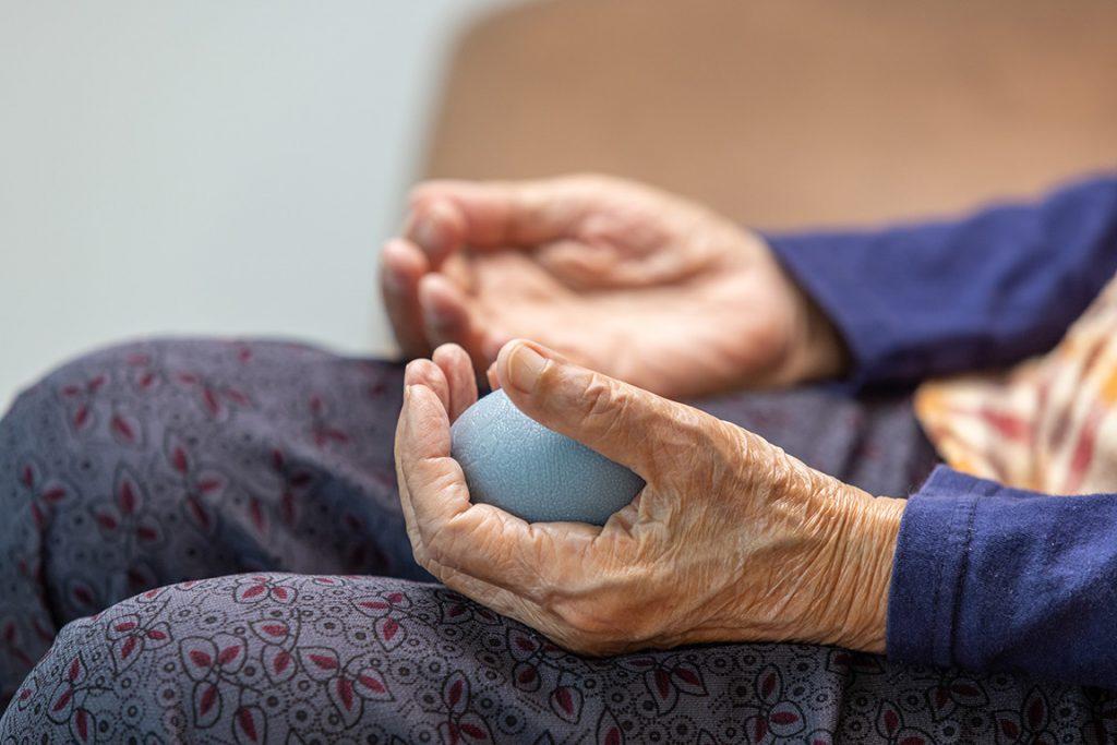 Terapia ocupacional en personas mayores